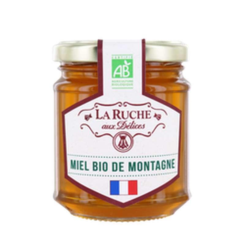 Miel de montagne BIO, La ruche aux délices (250 g)