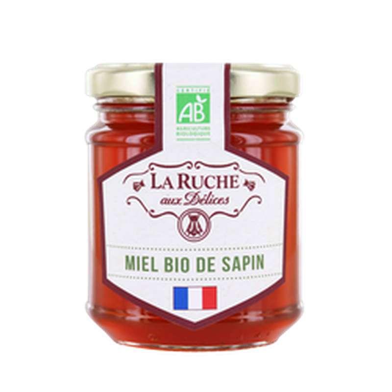 Miel de sapin BIO, La ruche aux délices (250 g)