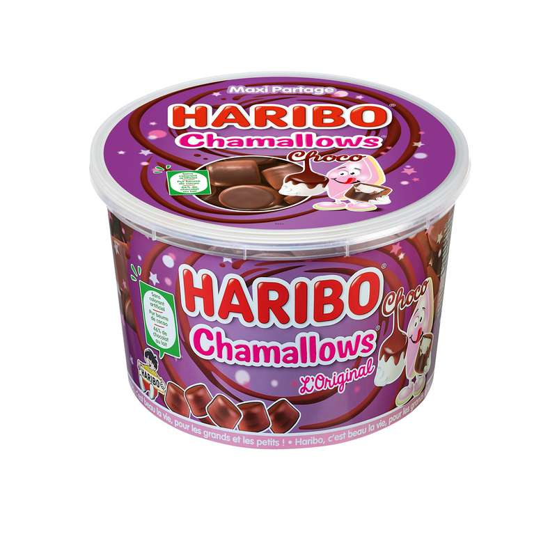 Bonbons chamallows choco, Haribo (450 g)