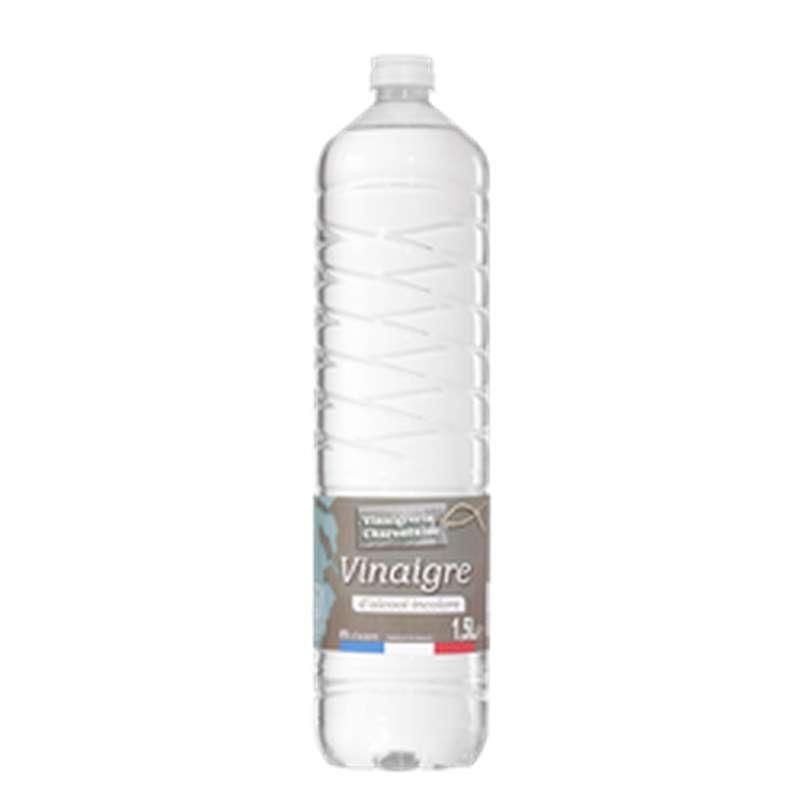 Vinaigre d'alcool incolore 8%, Vinaigrerie Charentaise (1,5 L)