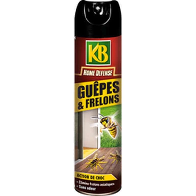 Aerosol anti guêpes et frelons sans odeur, KB (400 ml)