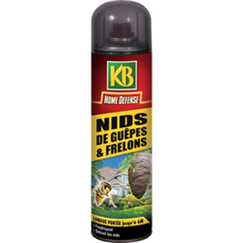 Aérosol nid de guêpe et frelon, KB (500 ml)