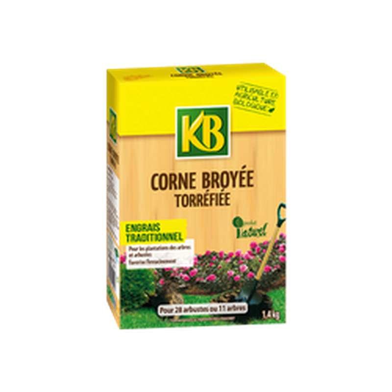 Corne broyée torrefiée engrais traditionnel BIO, KB (1,4 kg)