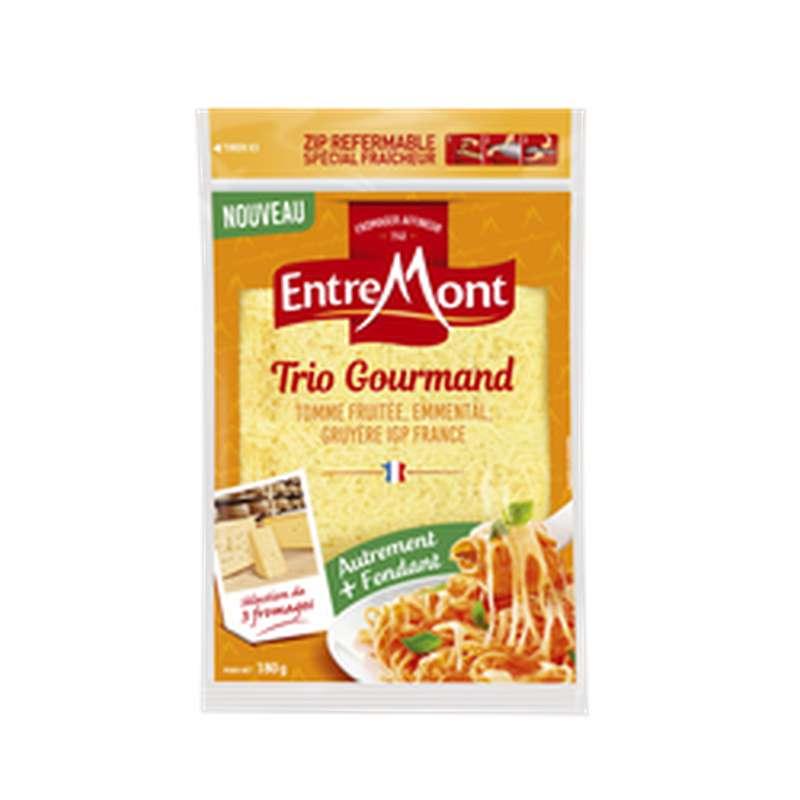 Fromage râpé trio gourmand, Entremont (180 g)