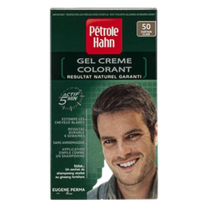 Coloration pour homme Châtain clair n°50, Petrole Hahn
