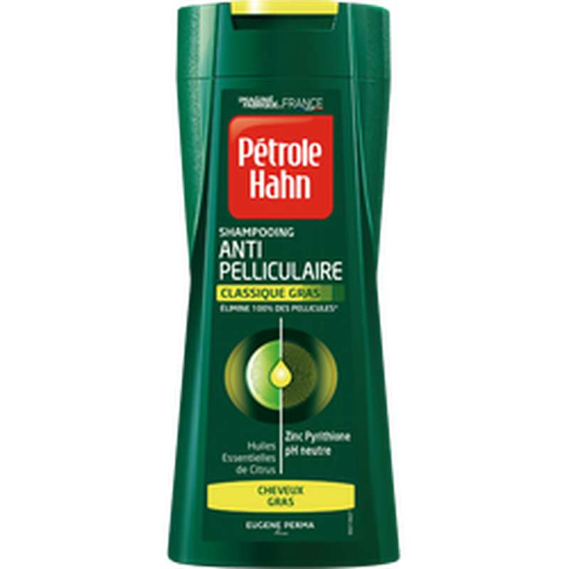 Shampoing Stop Pellicules cheveux gras, Petrole Hahn (250 ml)
