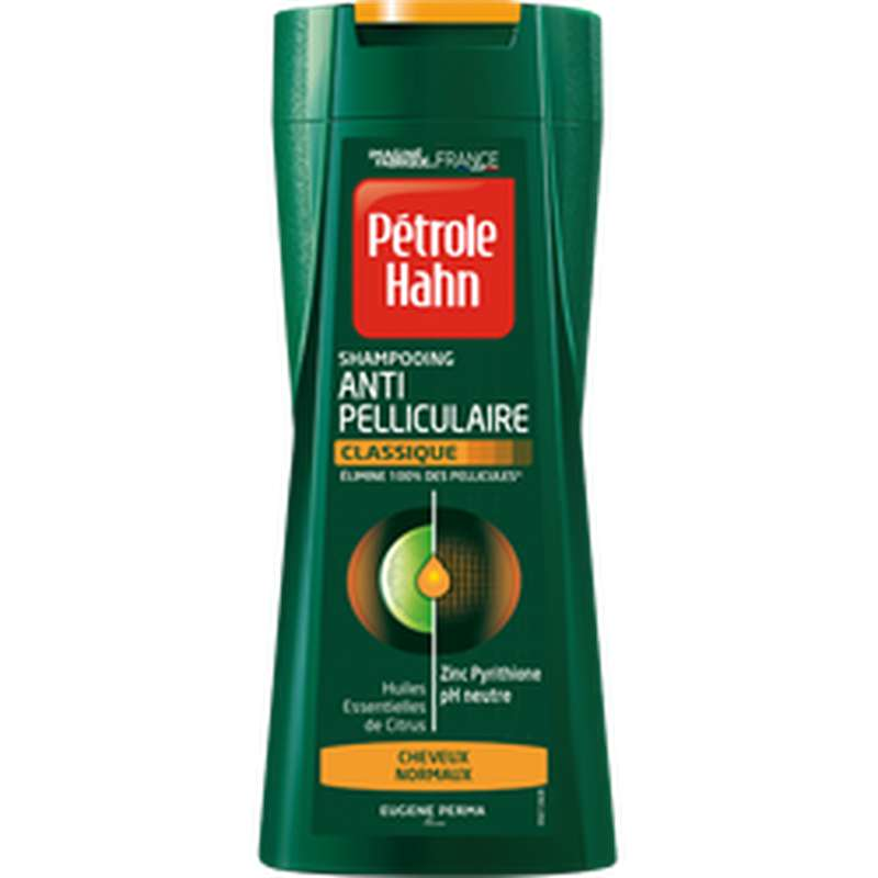 Shampoing Stop Pellicules cheveux normaux, Petrole Hahn (250 ml)