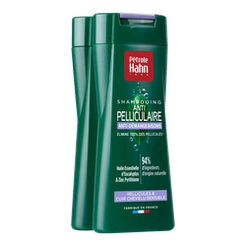 Shampooing anti-pelliculaire et anti-démangeaisons, Pétrole Hahn (2 x 250 ml)