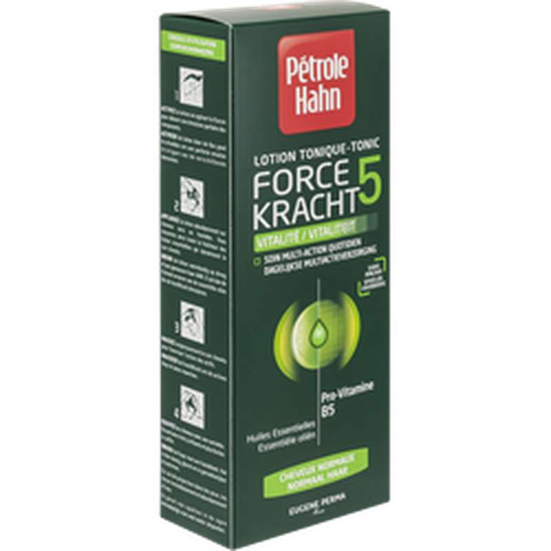 Lotion tonique vert Force 5, Petrol Hahn (300 ml)