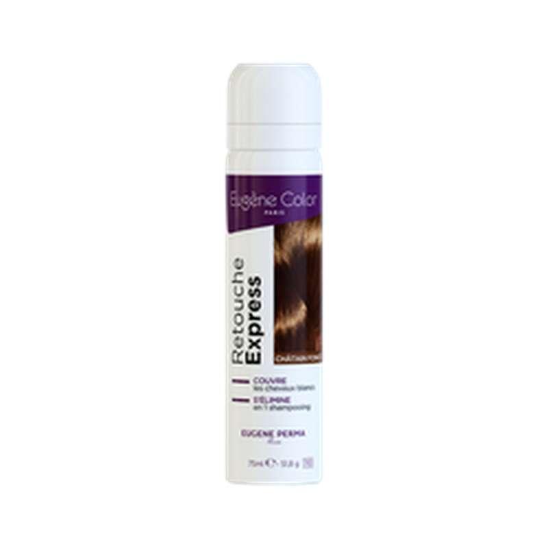 Spray retouche express Châtain foncé, Eugene Color (75 ml)
