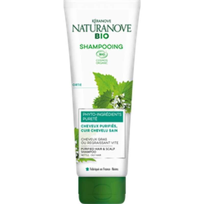 Shampoing ortie cheveux gras BIO, Keranove (250 ml)