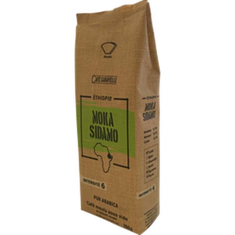 Café moulu Ethiopie Moka Sidamo, Café Caravelle (250 g)