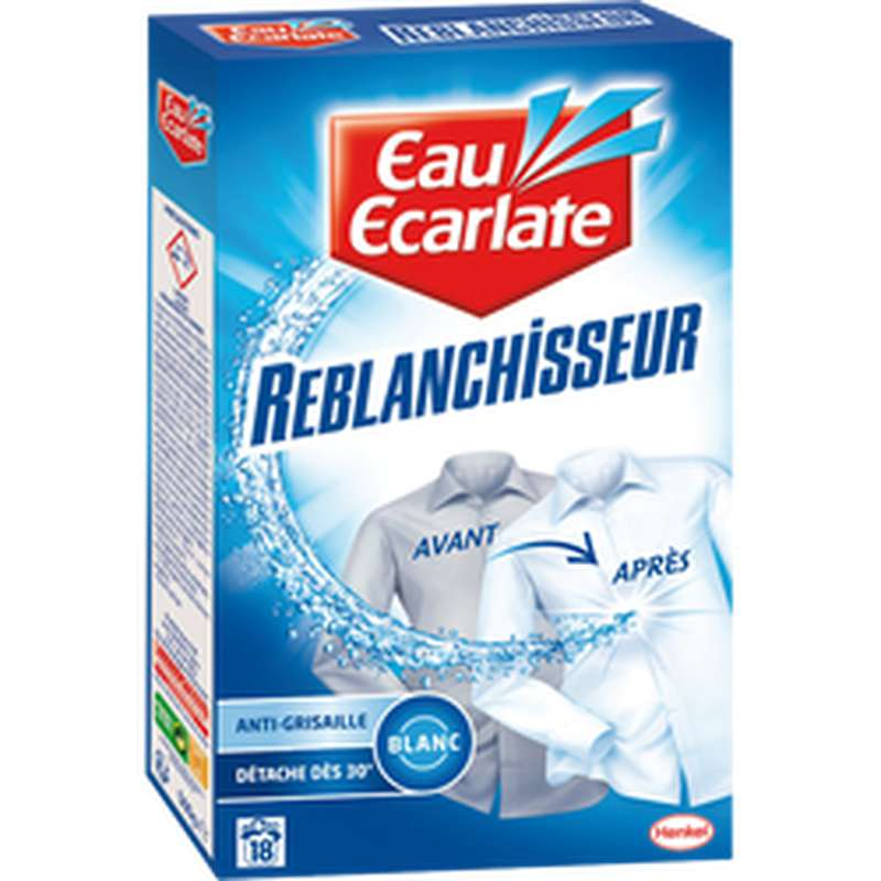 Détacheur reblanchisseur pour le linge, Eau Ecarlate (500 g)