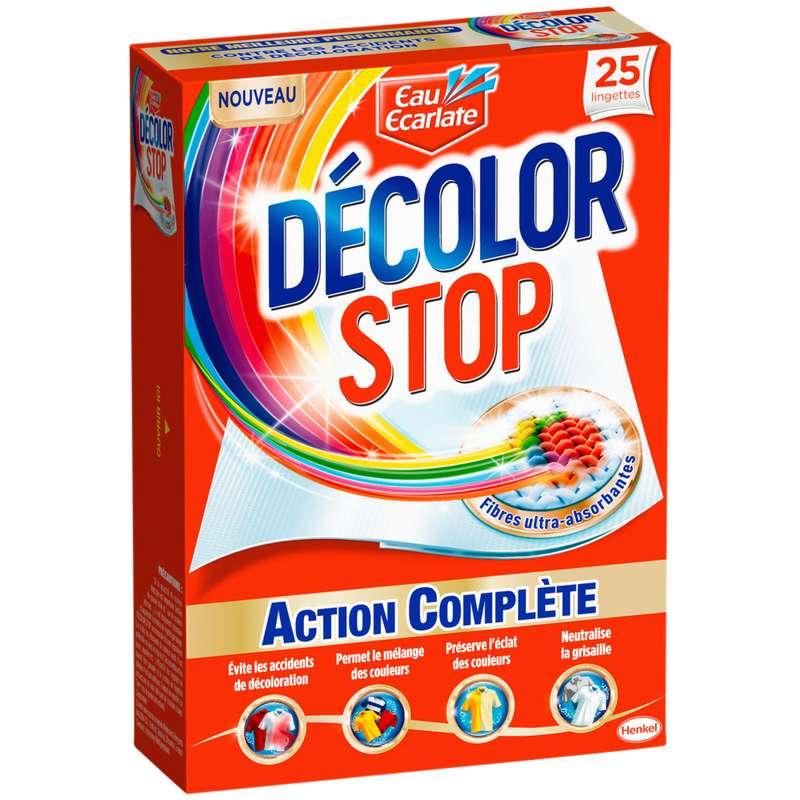 Décolor Stop action complète (25 lingettes)