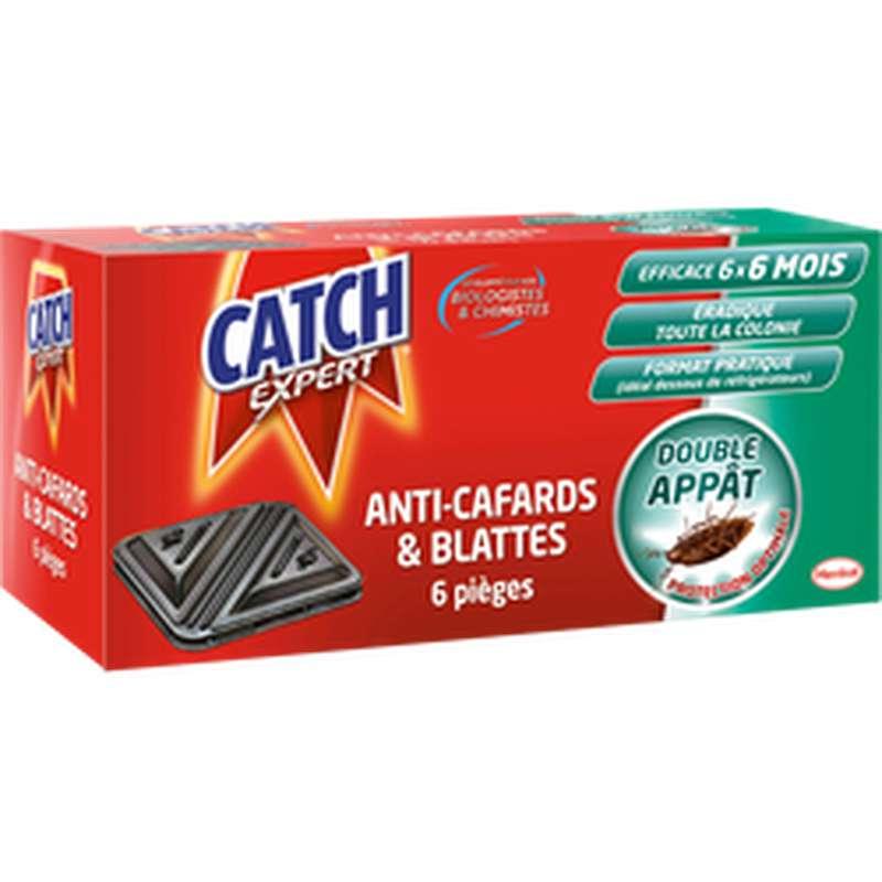 Piège contaminateur anti-cafards et blattes, Catch (x 6)