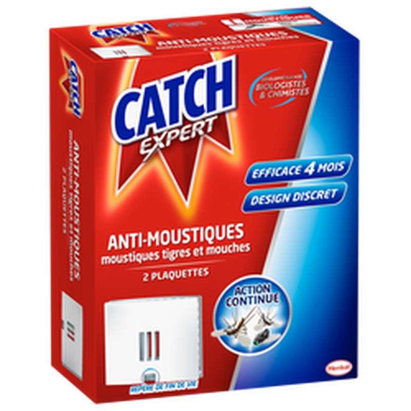 Plaquette anti-moustiques et mouches, Catch (x 2)