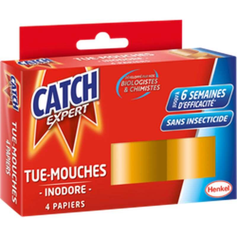Papier tue-mouches inodore, Catch (x 4 rouleaux)