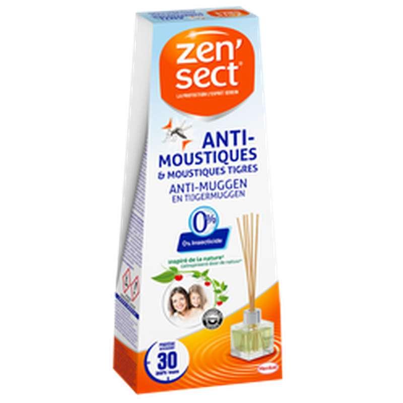 Diffuseur bâtonnets anti-moustiques, Zensect (40 ml)