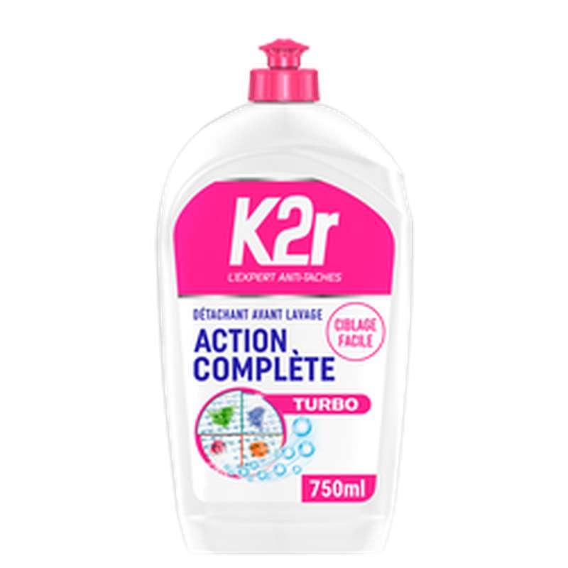 Détachant avant-lavage liquide ciblage facile, K2R (750 ml)