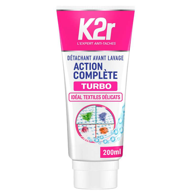 Détachant avant lavage, K2r (200 ml)