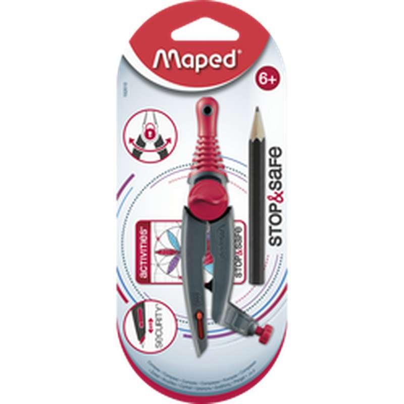 Compas à bague Stop & Safe, Maped
