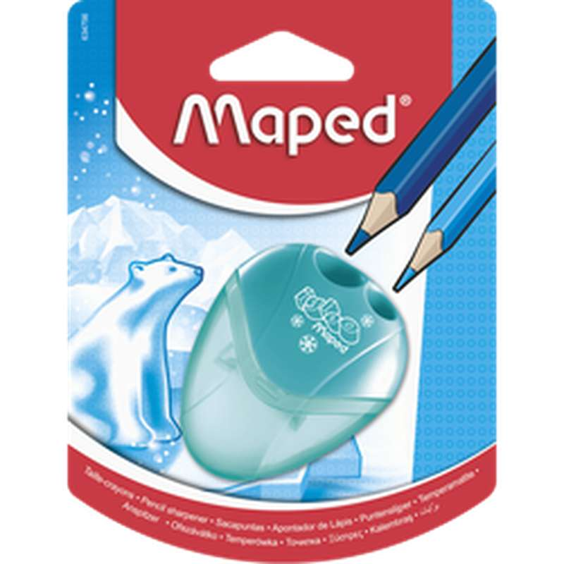Taille-crayon à réservoir Igloo, Maped (2 trous)