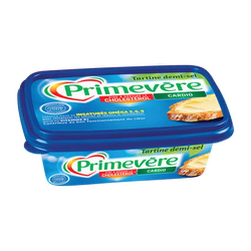 Margarine à tartiner demi-sel 55% MG, Primevère (250 g)