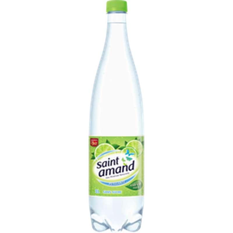 Saint Amand aromatisée au citron vert (1 L)