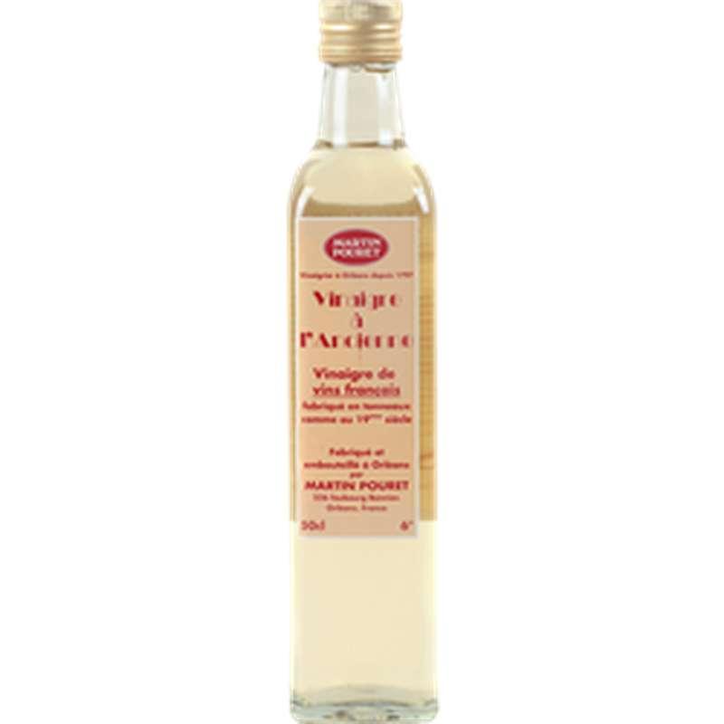 Vinaigre de vin blanc à l'ancienne, Martin Pouret (50 cl)