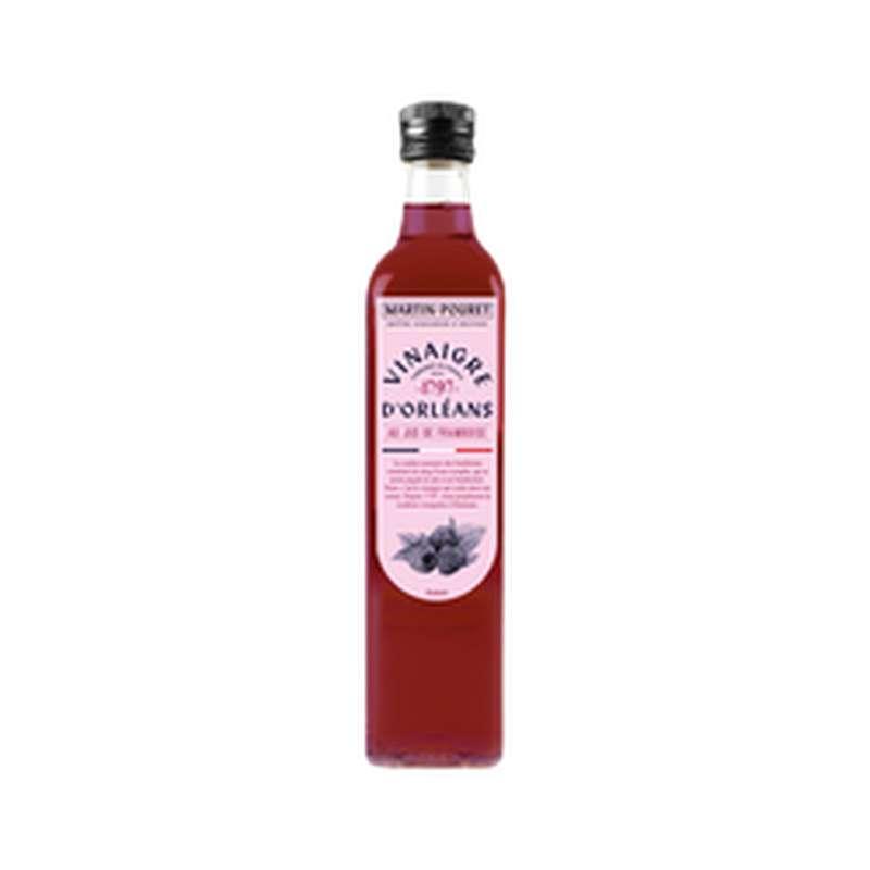 Vinaigre à l'ancienne au jus de framboise, Martin Pouret (50 cl)