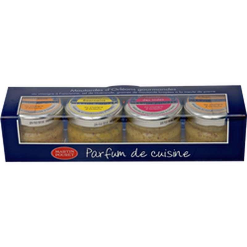 Coffret de moutardes, Martin Pouret (4 x 25 g)