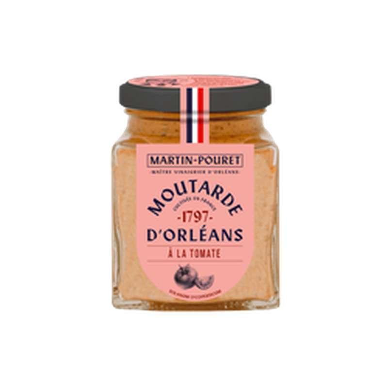 Moutarde d'Orléans à la tomate, Martin Pouret (200 g)