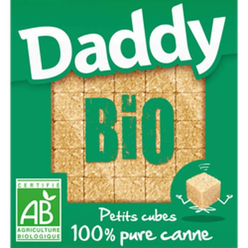 Petits sucres en cubes 100% pure sucre de canne BIO, Daddy (500 g)