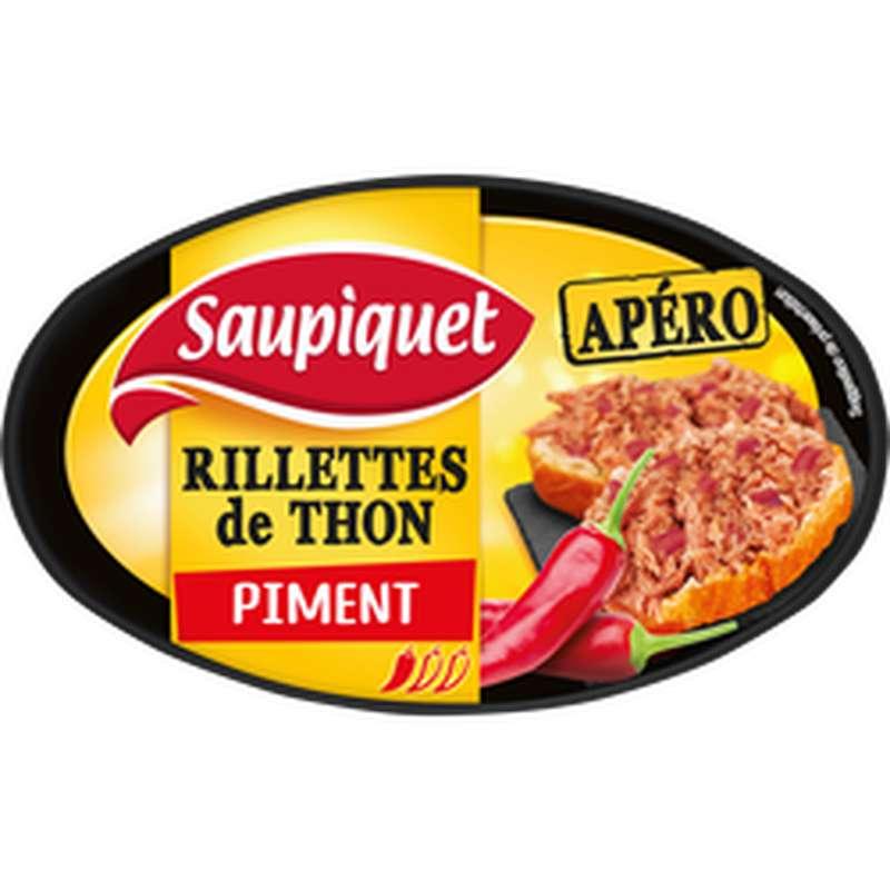 Rillettes de thon apéro au piment, Saupiquet (115 g)