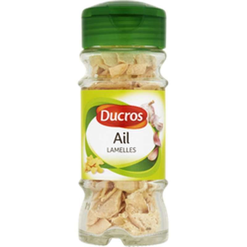 Ail en lamelles, Ducros (20 g)