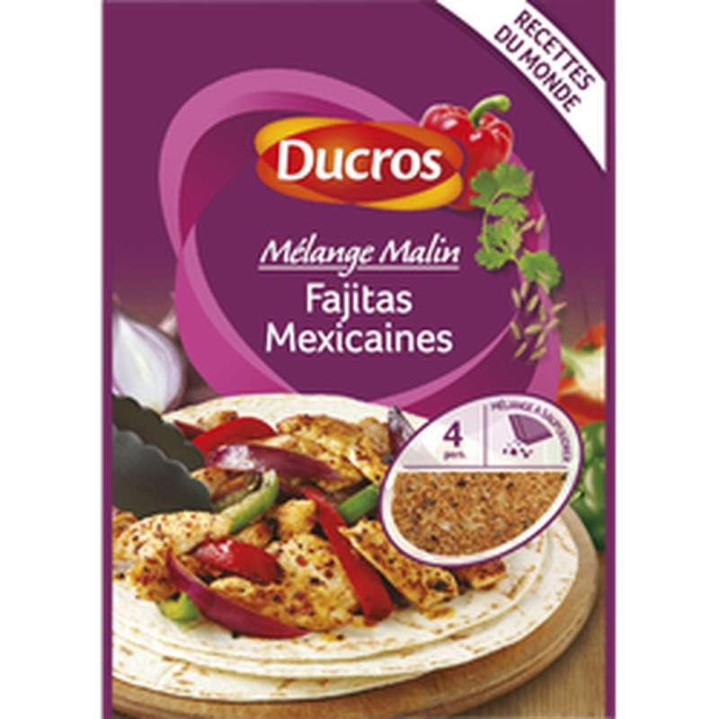Mélange fajitas Mexicaines, Ducros (20 g)