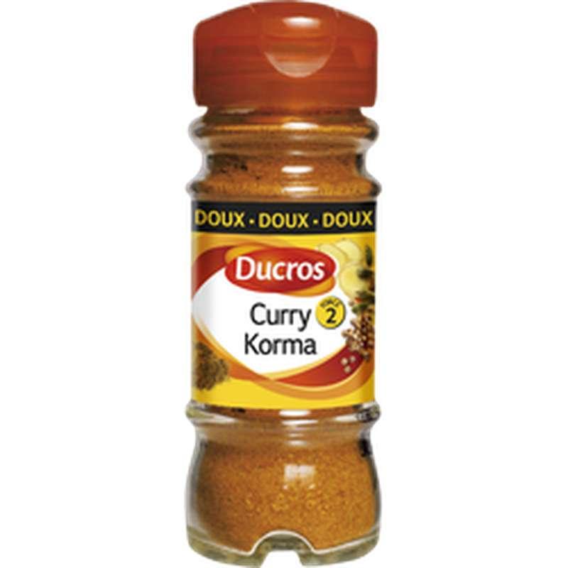 Curry Korma medium, Ducros (42 g)