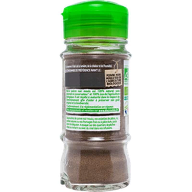 Poivre noir moulu BIO, Ducros (43 g)
