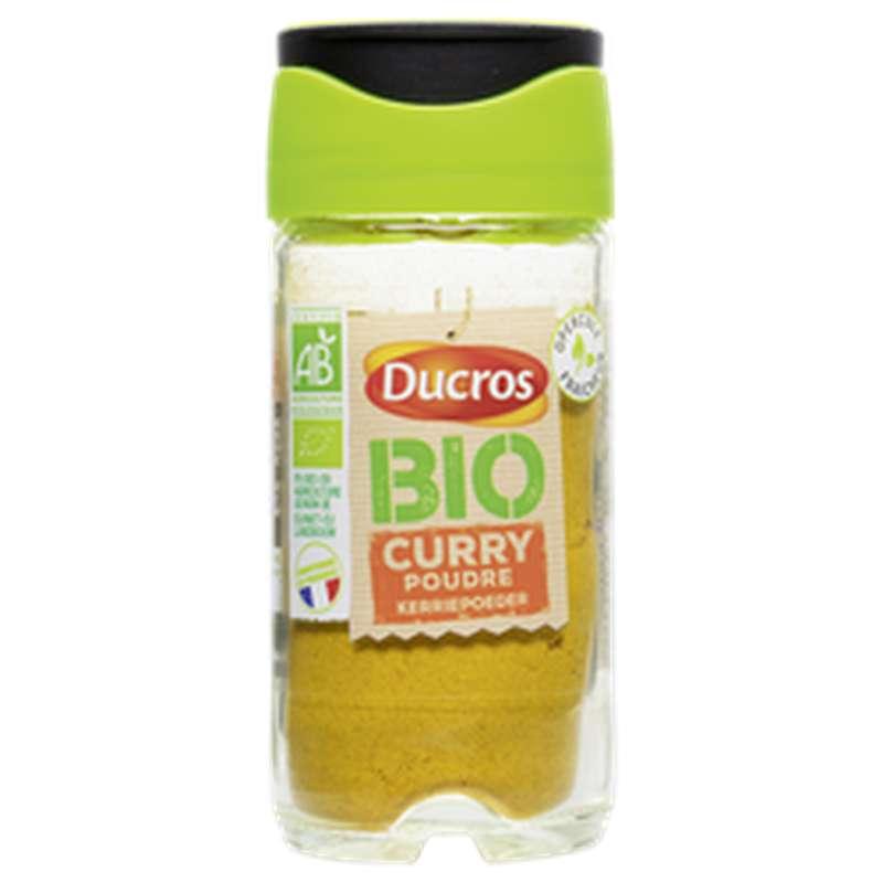 Curry en poudre BIO, Ducros (36 g)