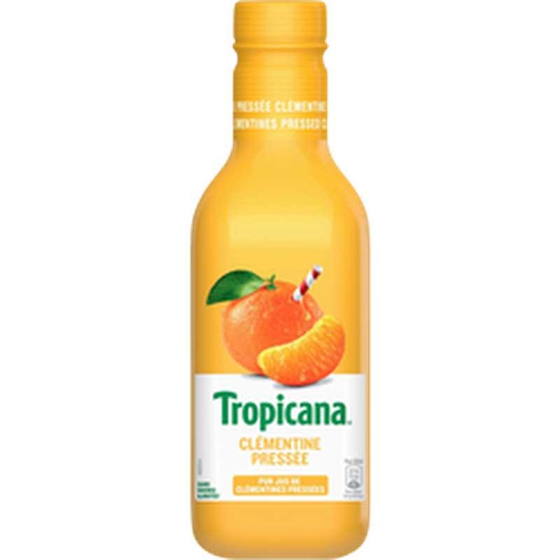 Jus de clémentines pressées, Tropicana (90 cl)