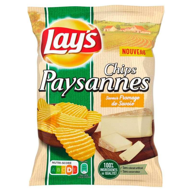 Chips paysannes saveur fromage de Savoie, Lay's (120 g)