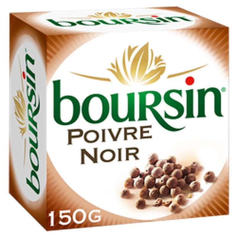 Boursin au poivre noir (150 g)