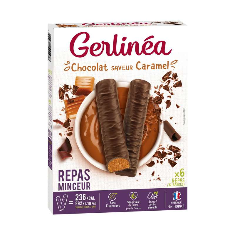 Barres Caramel, Gerlinea (372 g)