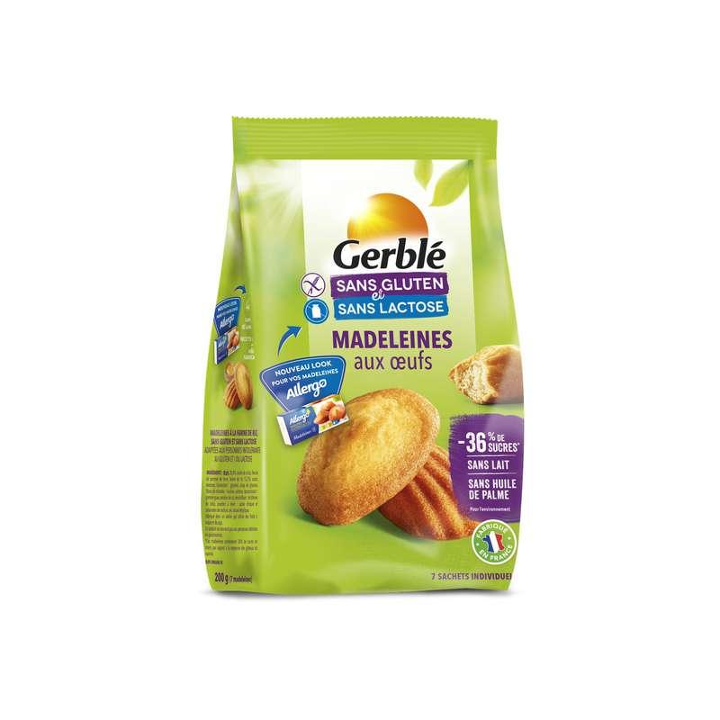 Madeleine sans gluten, Gerblé (200 g)
