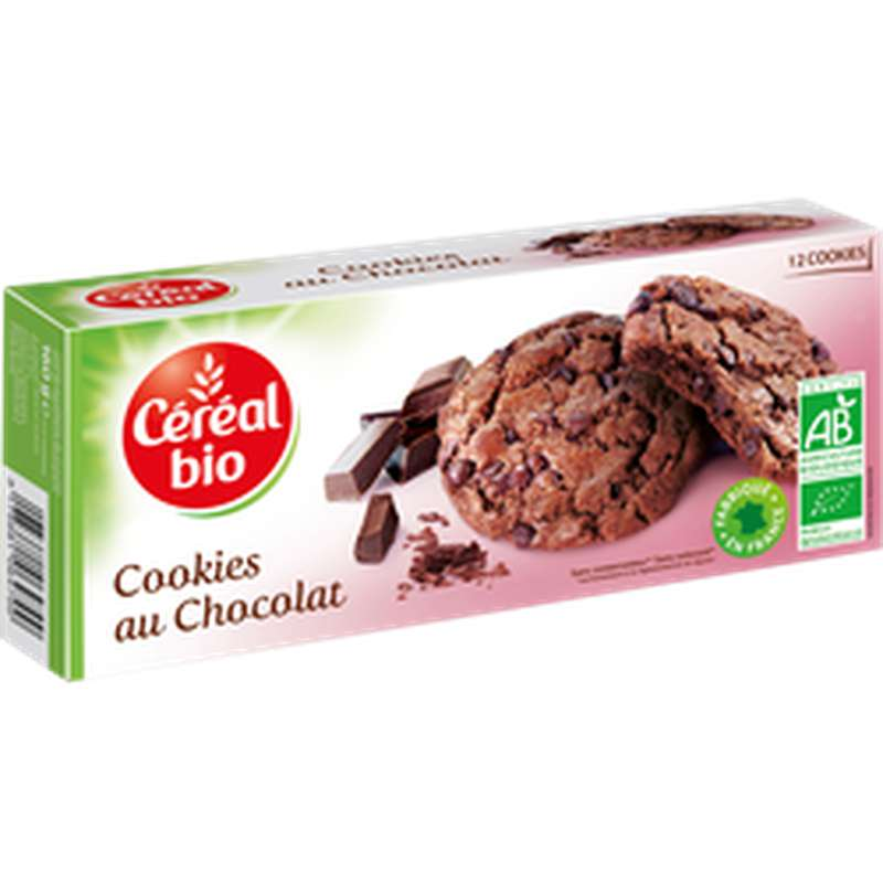 Cookies tout Choco BIO, Cereal Bio (160 g)