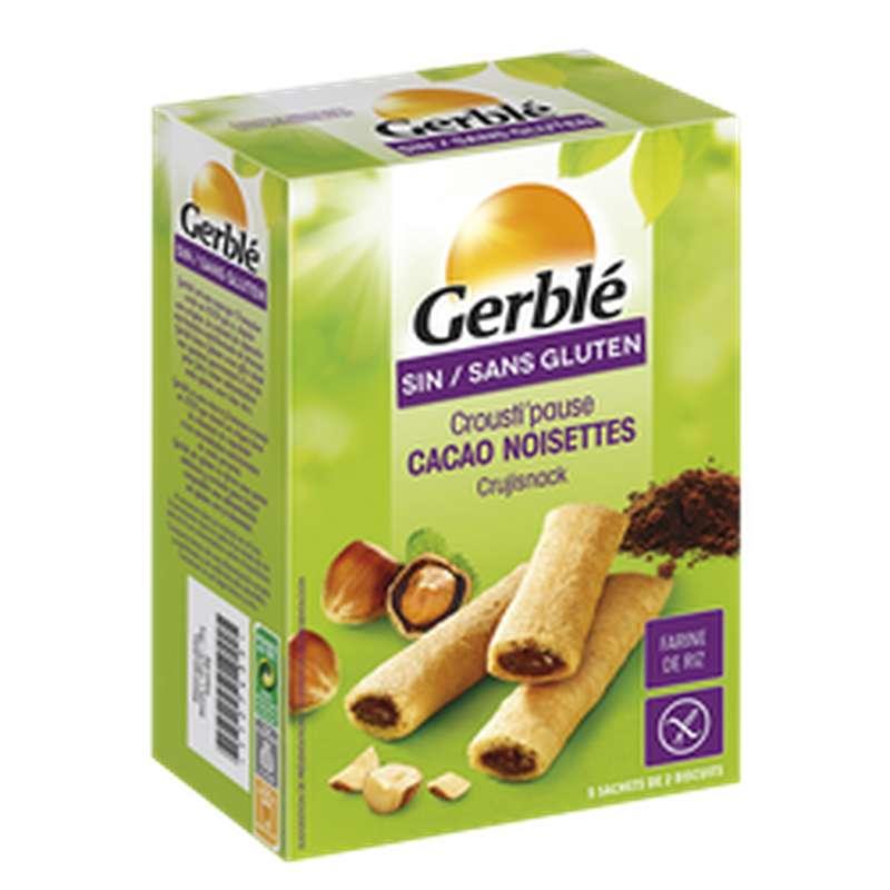 Biscuits cacao noisette sans gluten, Gerblé (125 g)