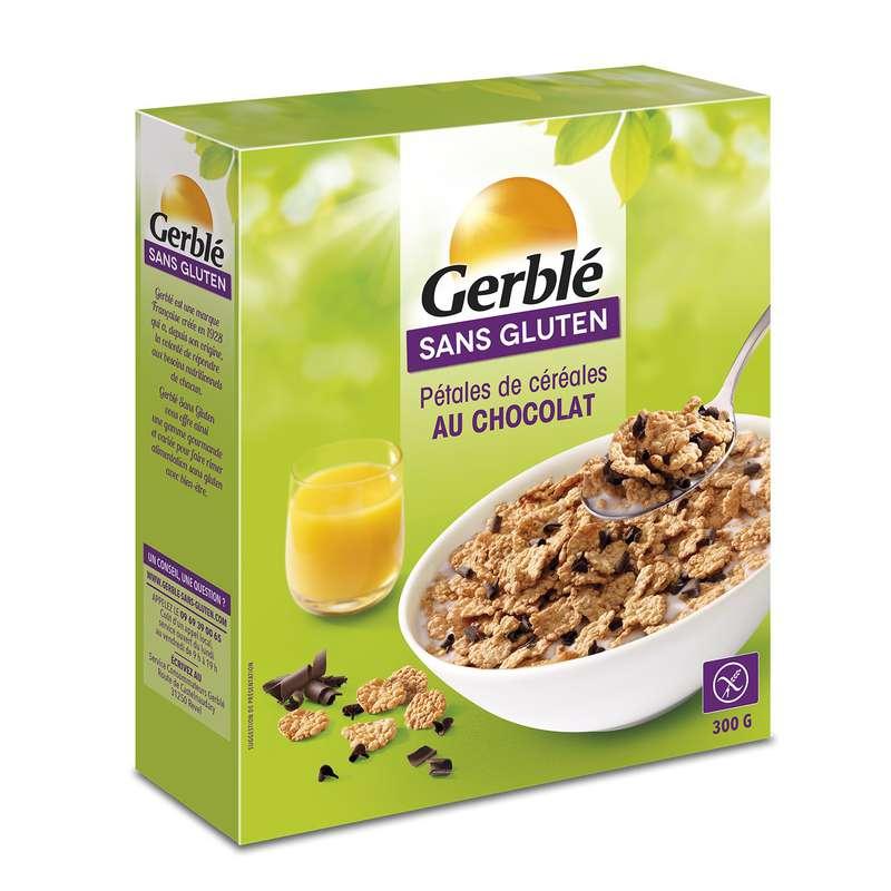 Céréales copeaux de chocolat sans gluten, Gerblé (300 g)