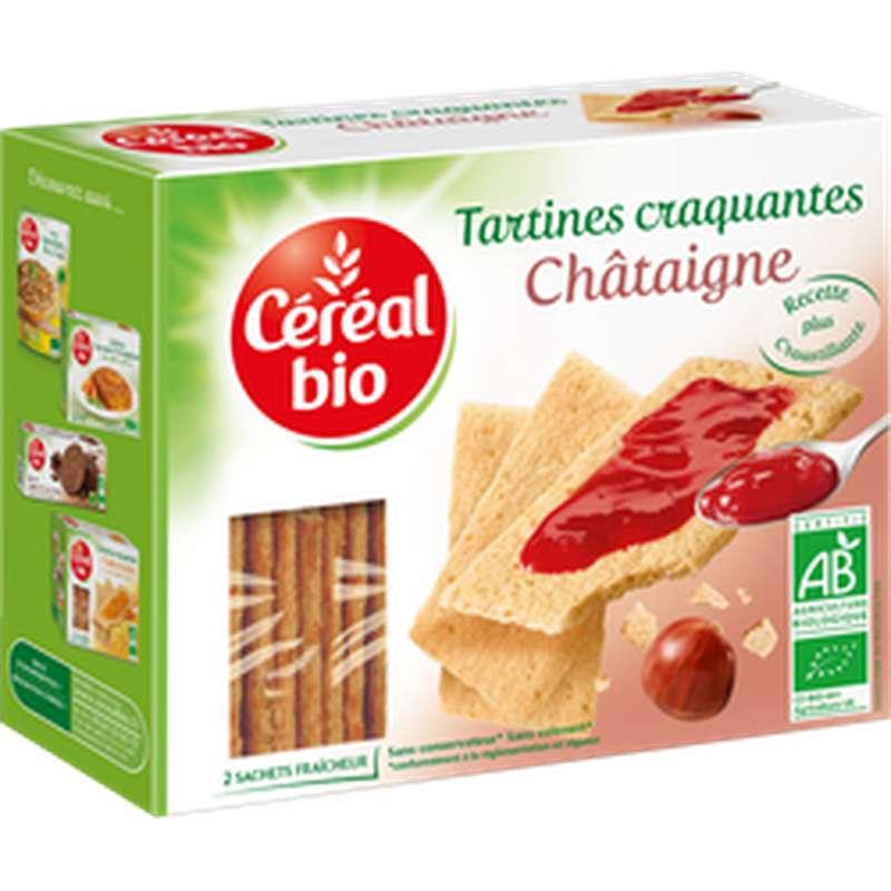 Tartines craquantes à la châtaigne BIO, Céréal Bio (145 g)