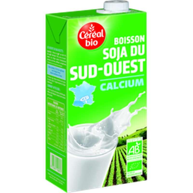 Boisson au soja et calcium, Céréal Bio (1 L)