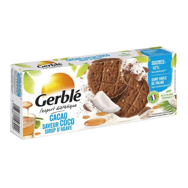 Biscuits sablé coco cacao, Gerblé (132 g)
